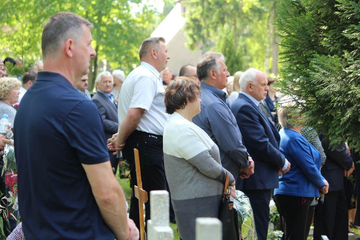 Pogrzeb Józefa Burniaka