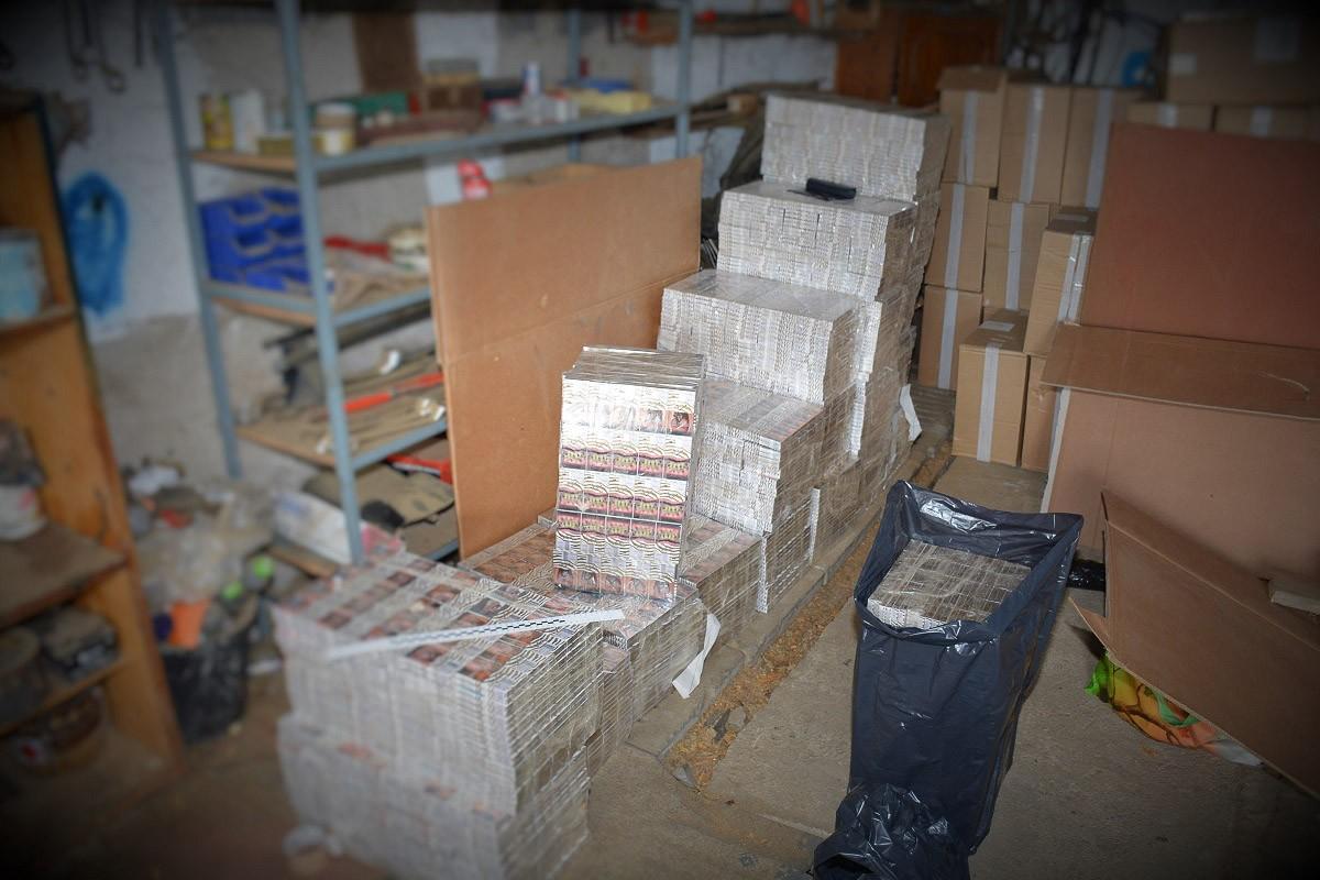 Nielegalne magazyny i krajalnia tytoniu zlikwidowane