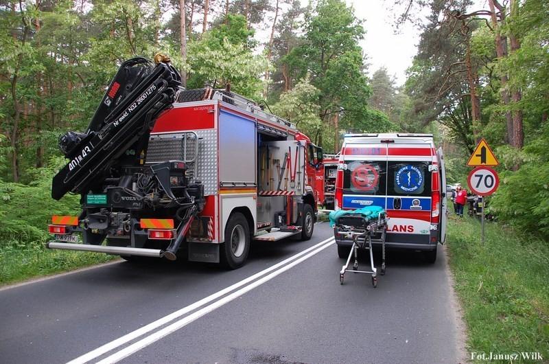 Wypadek za Dobrą k. Bolesławca z-index: 0