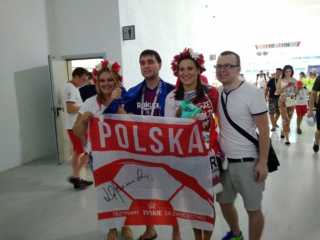 Mecz Polska - Japonia w Wołgogradzie z-index: 0