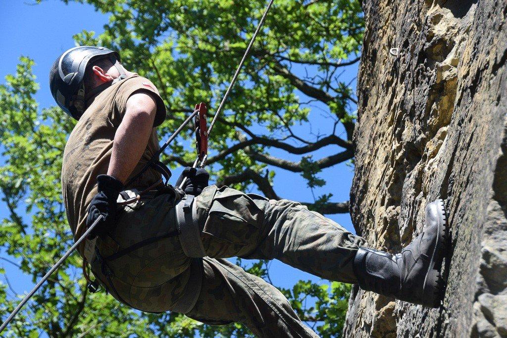 Ćwiczenie terenowe Commando 2018 na finiszu z-index: 0
