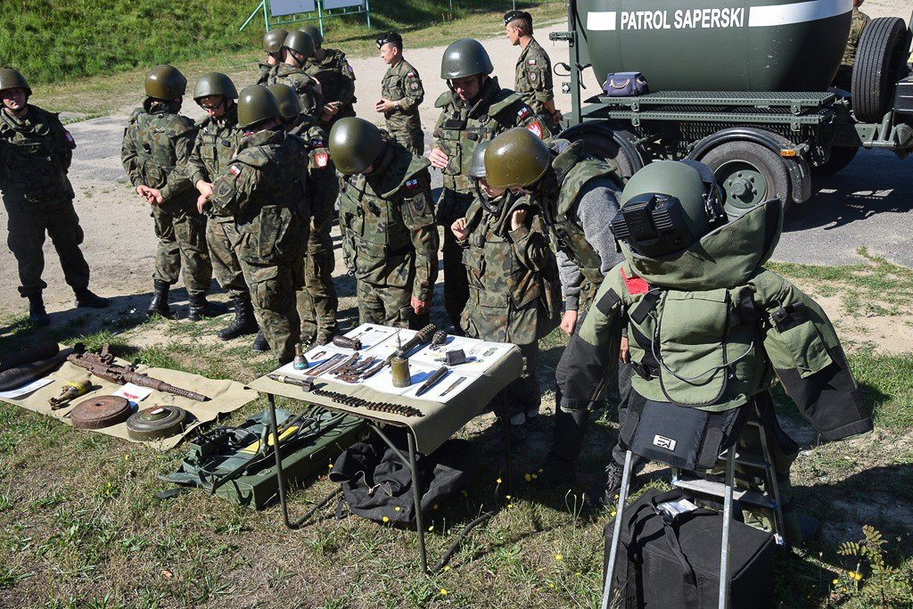 Ćwiczenie terenowe Commando 2018 na finiszu