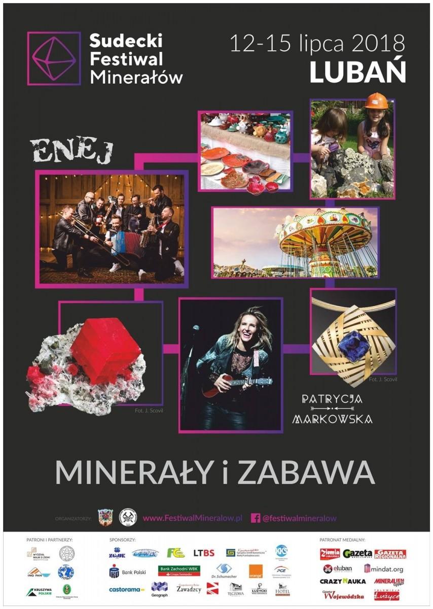 Sudecki Festiwal Minerałów w Lubaniu z-index: 0