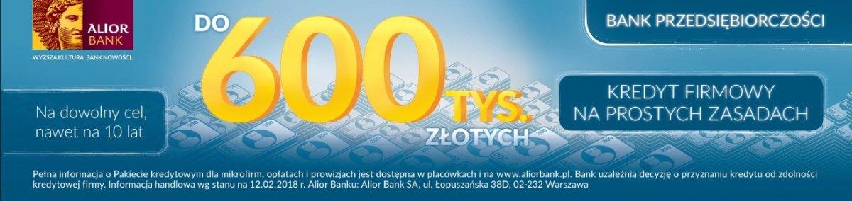 Kredyt firmowy w Alior Bank