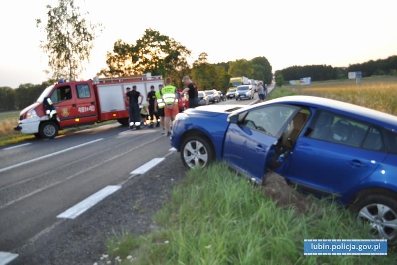 Kolejny wypadek w tym samym miejscu. 9 osób, w tym 5 dzieci, trafiło do szpitala z-index: 0