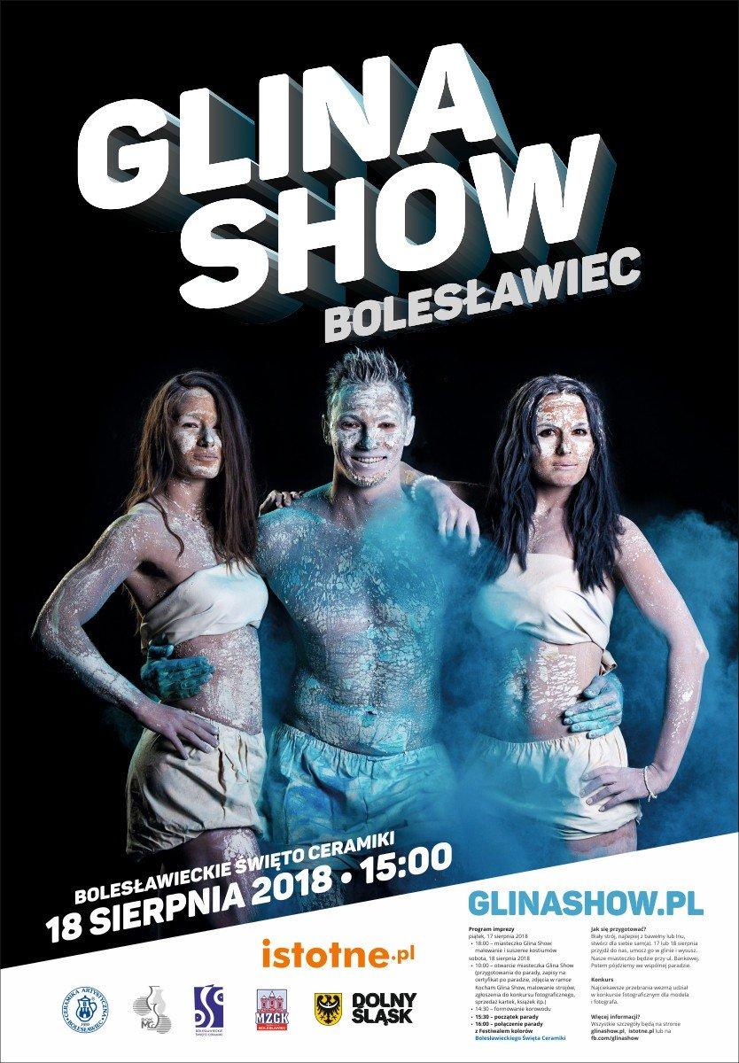 Plakat Glina Show 2018