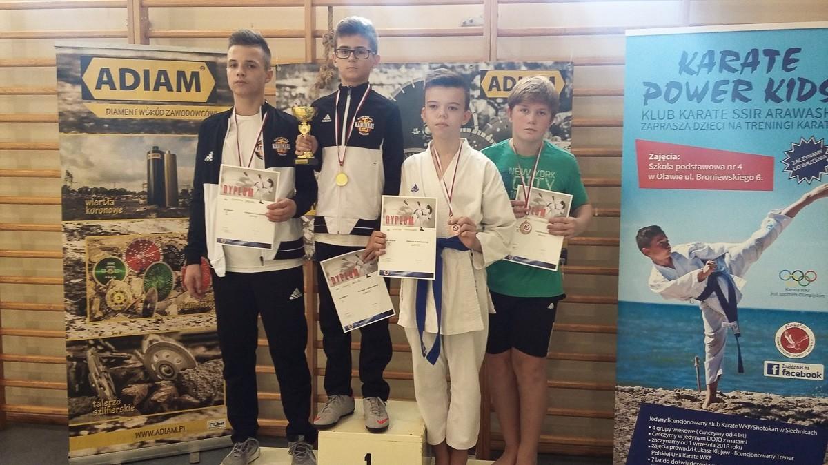 Karatecy TOP Bolesławiec rozpoczęli sezon. Dwa medale w Marcinkowicach z-index: 0