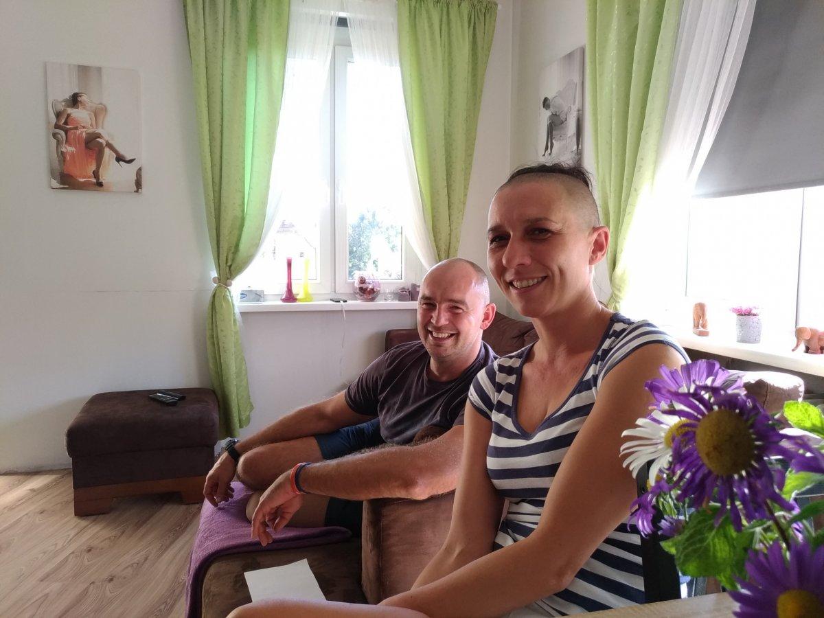 Nina i Seweryn tworzą teraz nowy dom dla Emila i Juliana