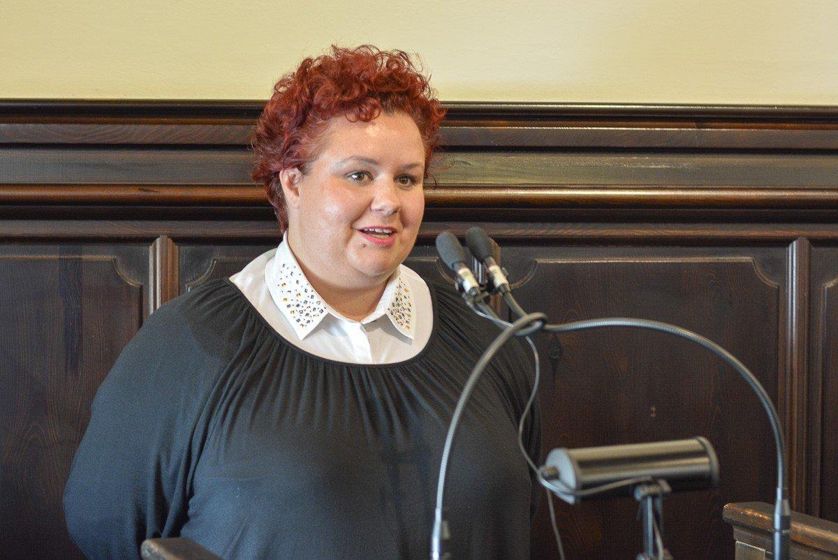 Izabela Dolecka, wnuczka harcmistrza Huberta Bonina