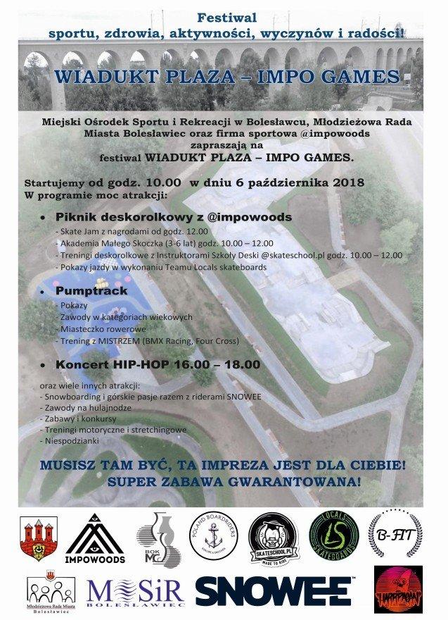 Festiwal Wiadukt Plaza – Impo Games