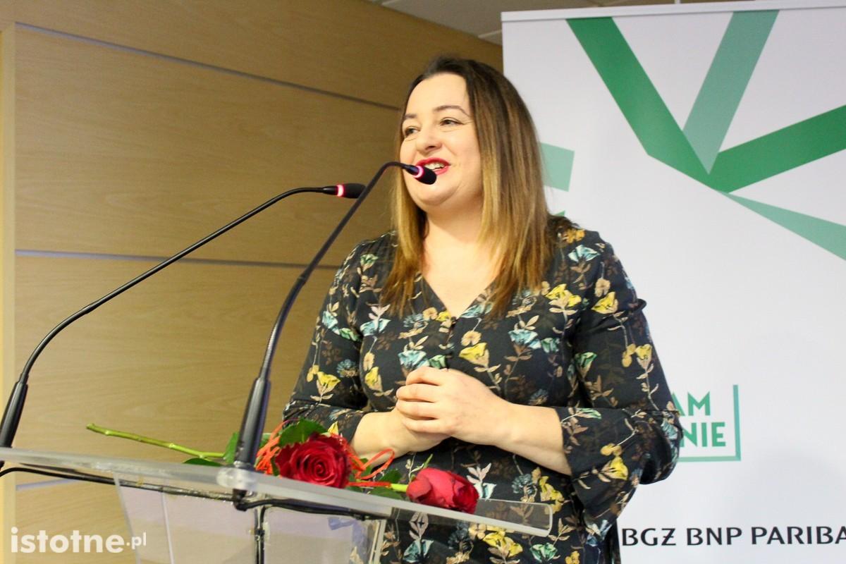 Grażyna Hanaf na wręczeniu nagród w konkursie Glina Show 2018 z-index: 0