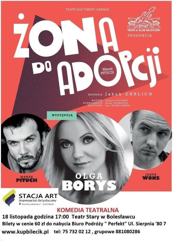 Spektakl Żona Do Adopcji - Bolesławiec