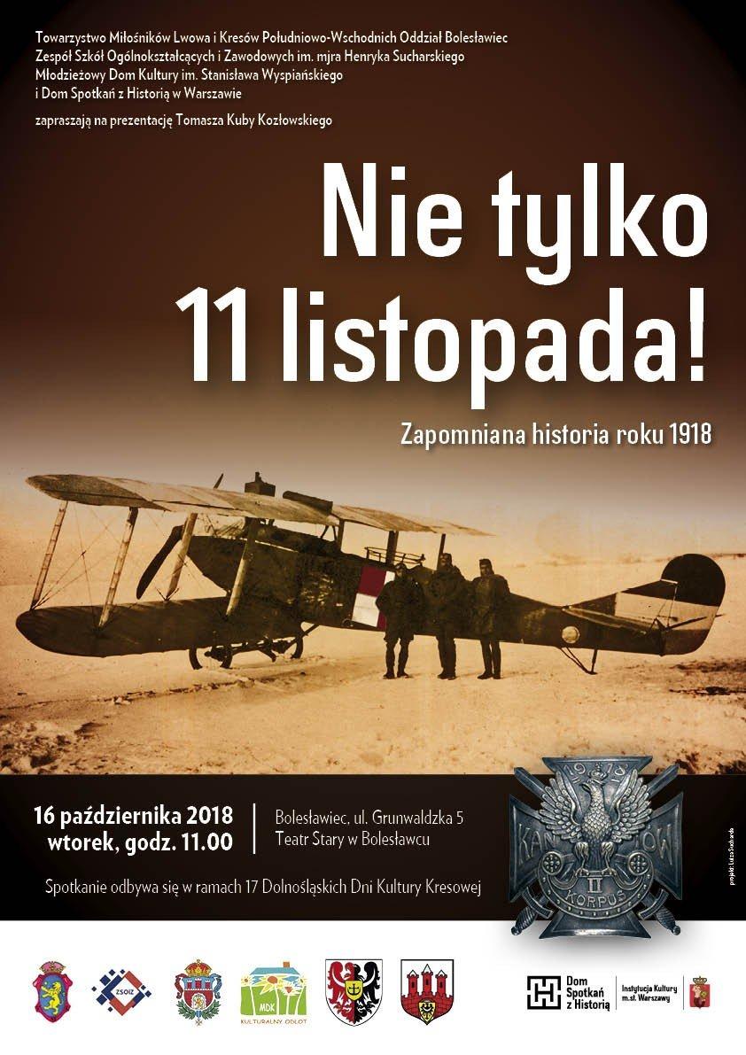 O zapomnianej historii roku 1918 w Teatrze Starym