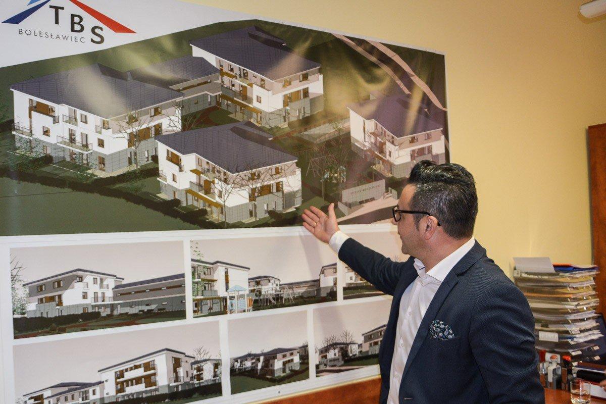Domy przy Zwycięstwa realizowane z programu Mieszkanie Plus
