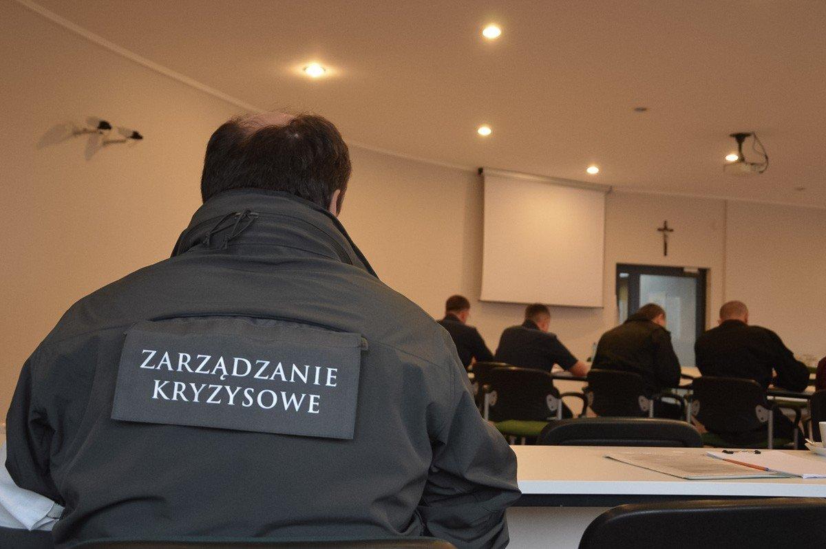 Starostwo: spotkanie koordynacyjne w ramach ćwiczeń Borsuk-18
