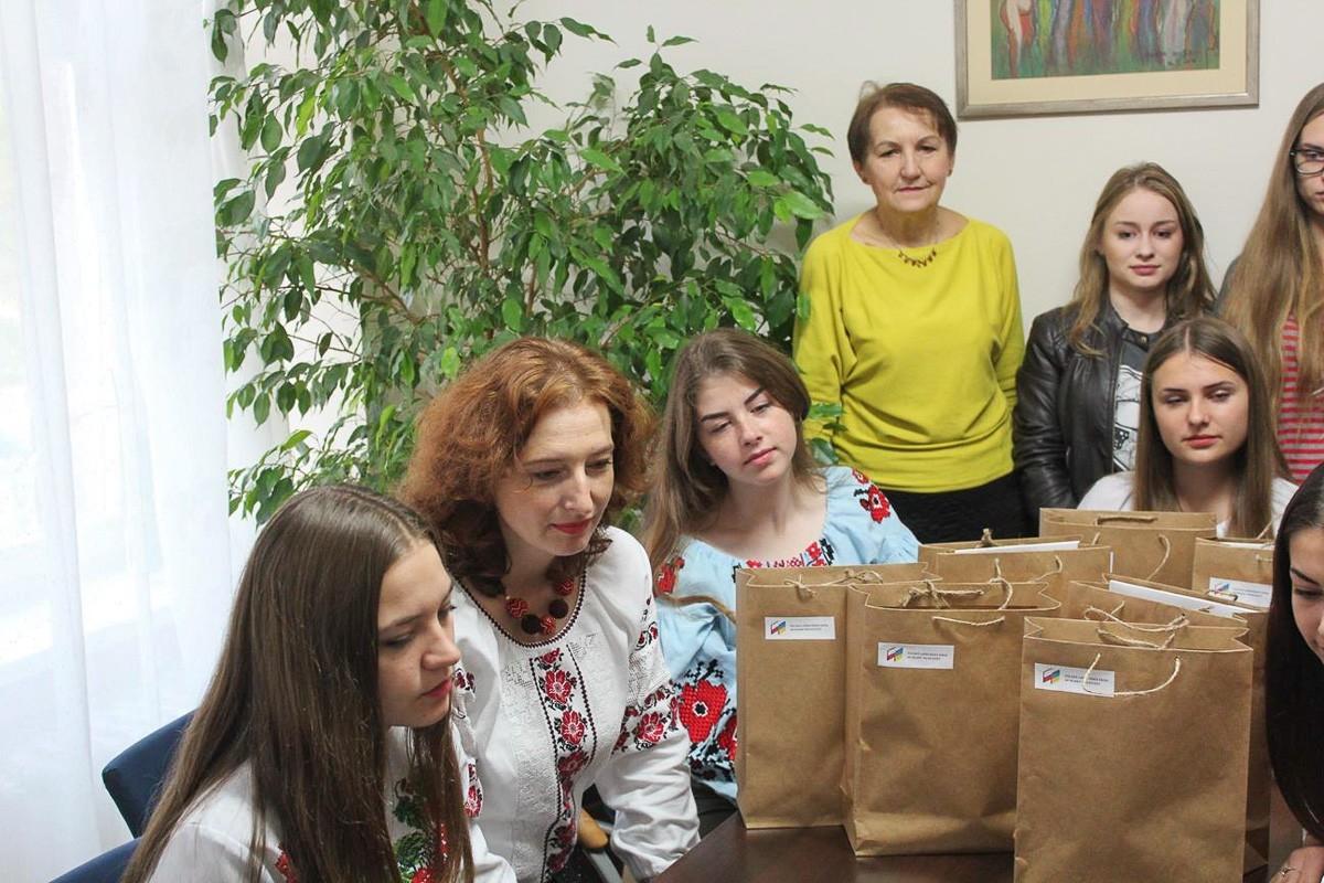 Młodzież z Ukrainy dwukrotnie w Mieście Ceramiki