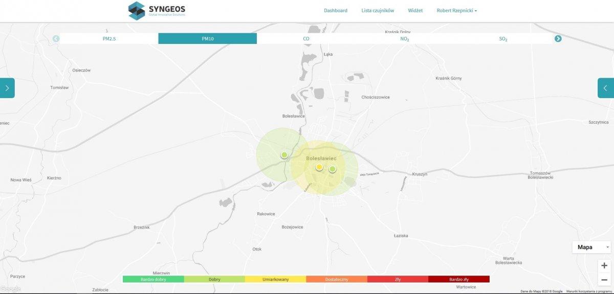 Możesz monitorować jakość powietrza. Nowe czujniki smogu w Bolesławcu