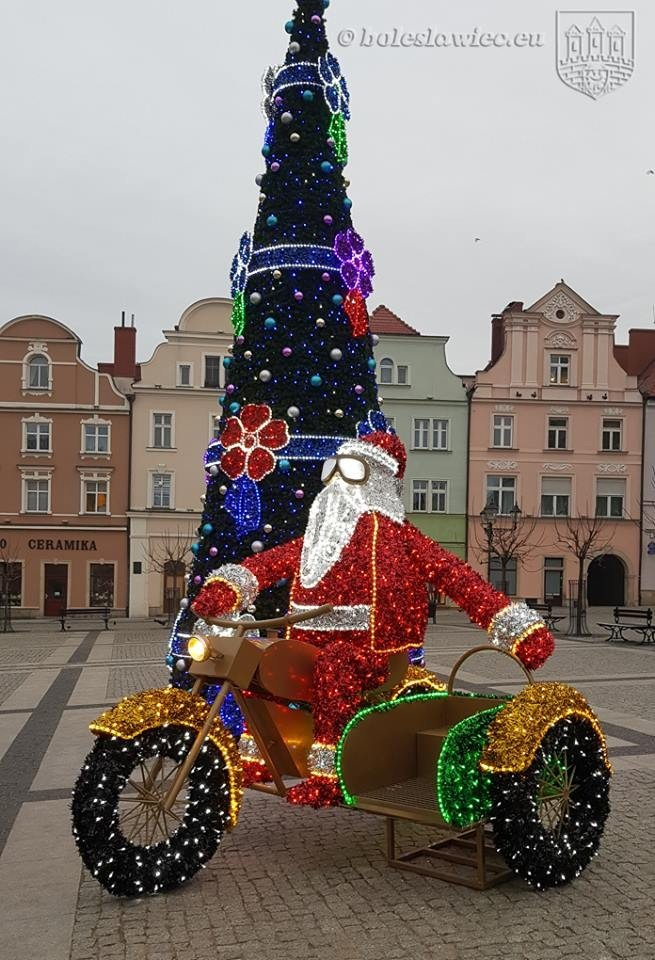 Święty Mikołaj w Bolesławcu! z-index: 0