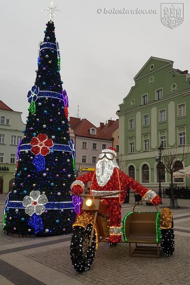Święty Mikołaj w Bolesławcu!