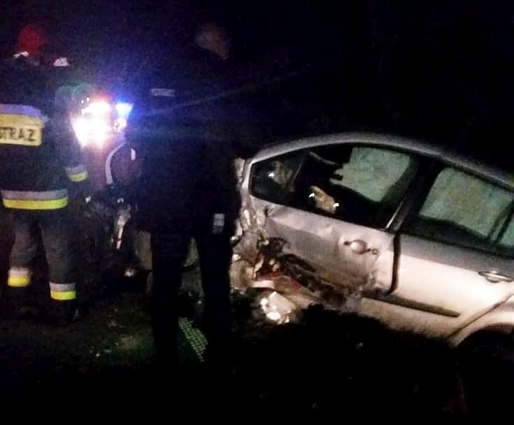 Wypadek w Suszkach