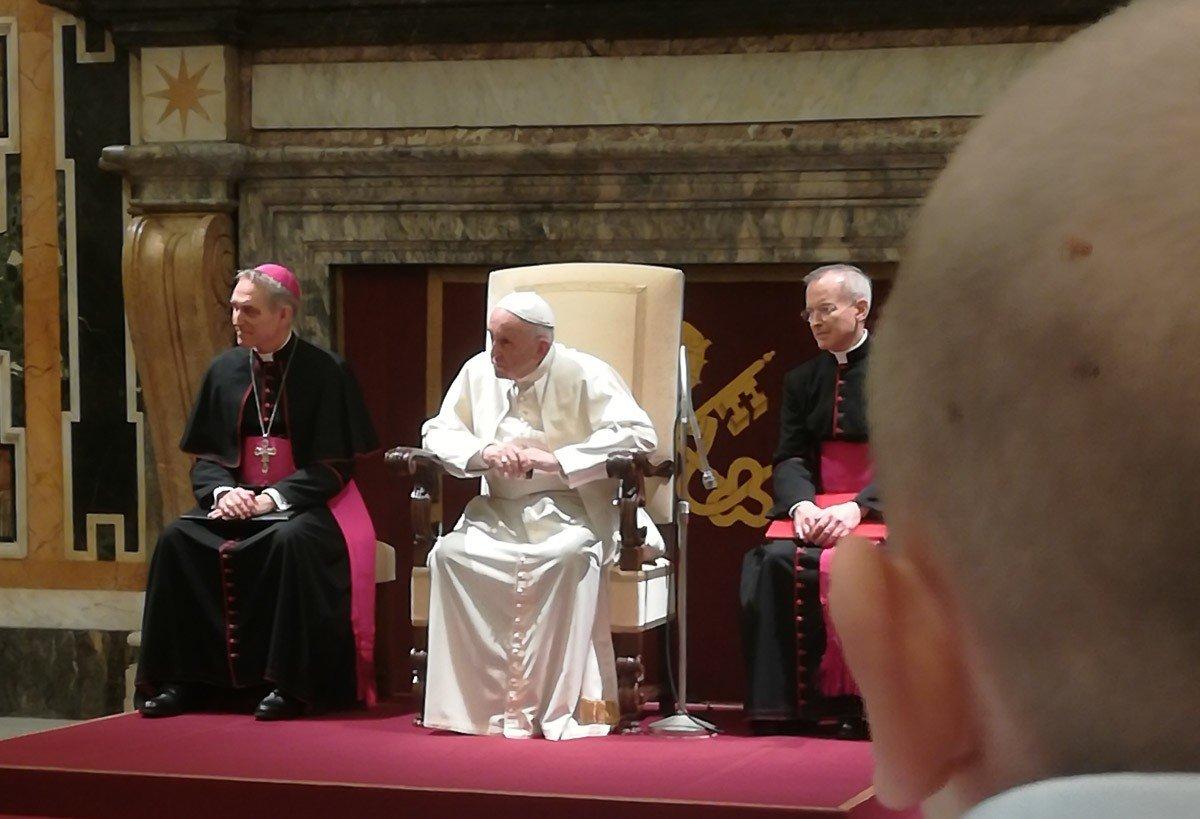 Z Gromadki do papieża Franciszka – podczas kolejnego cyklu chemii