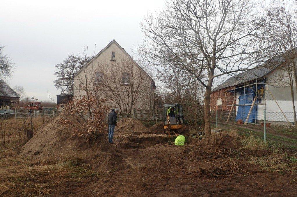 Prace ekshumacyjne w Wierzbowej