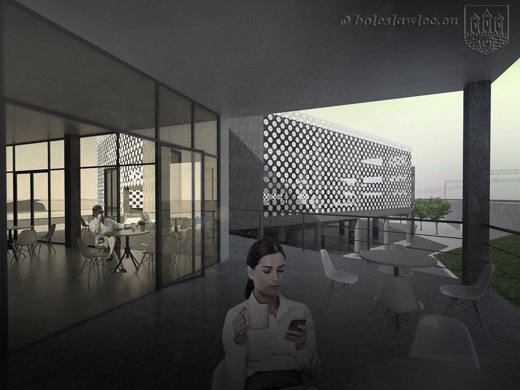 Projekt centrum przesiadkowego