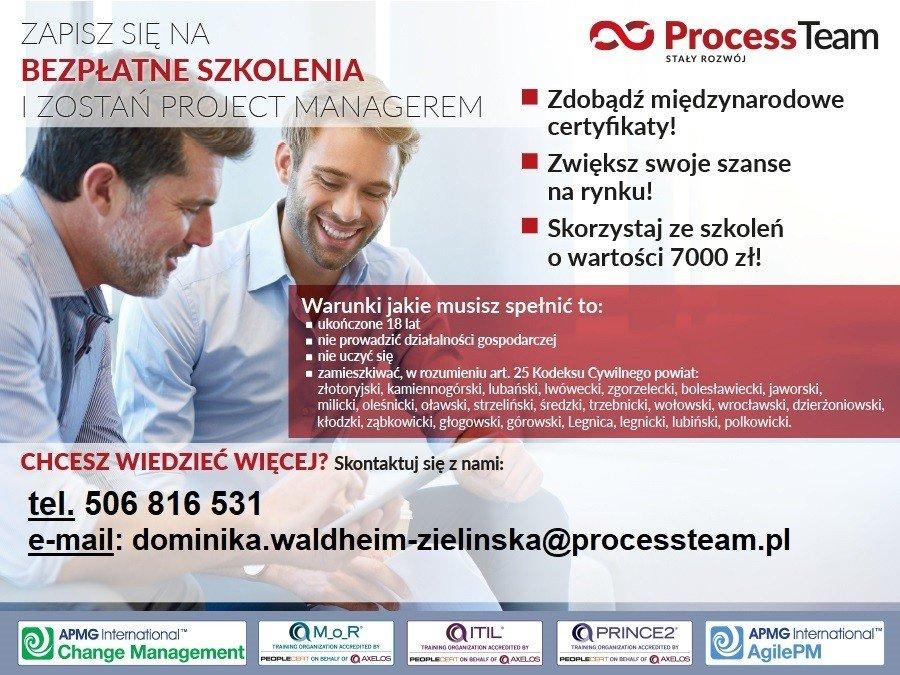 Bezpłatne szkolenia Process Team