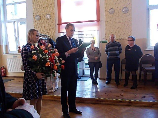 Wójt gminy przekazał życzenia płynące od premiera Mateusza Morawieckiego