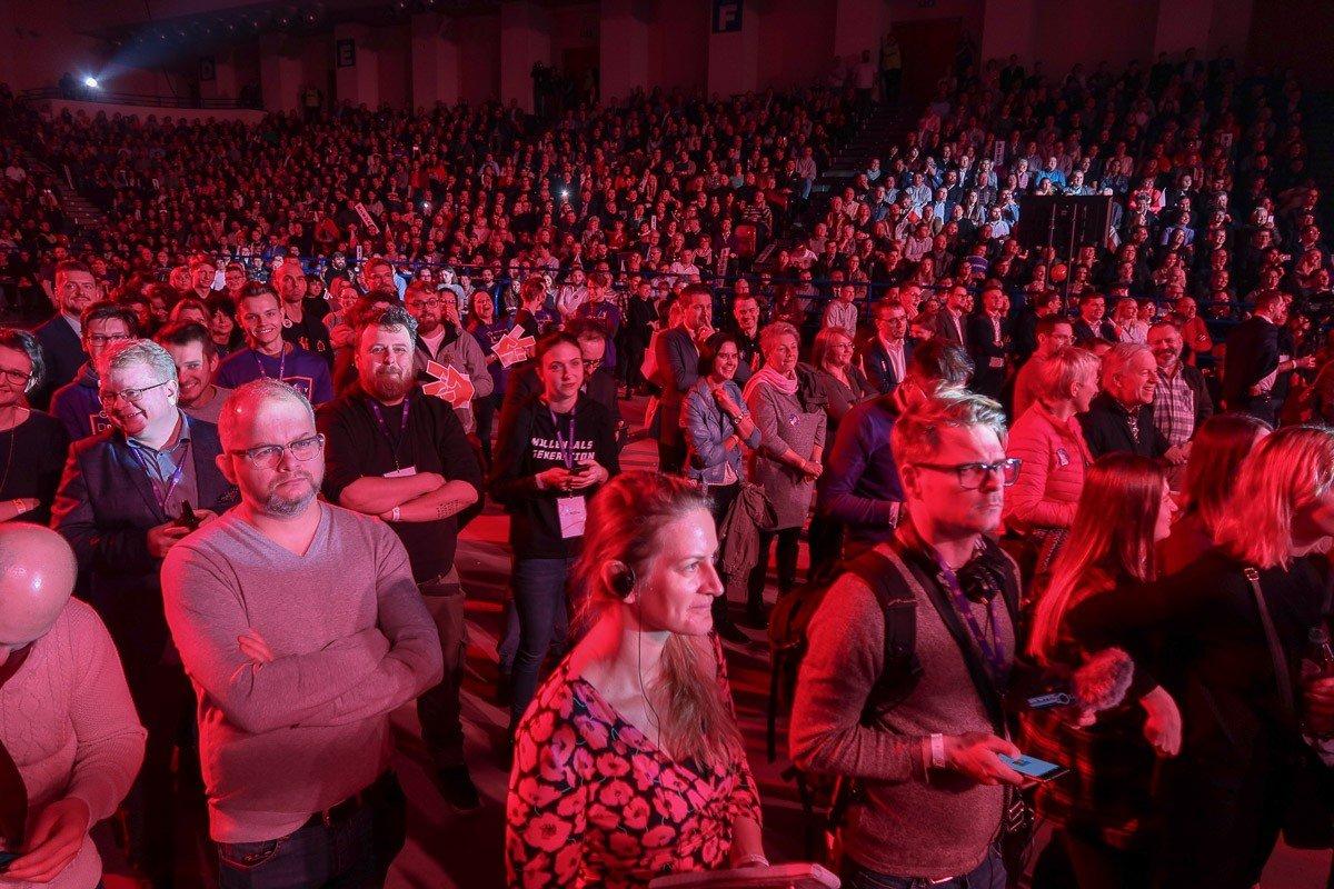 Konwencja Roberta Biedronia w Warszawie