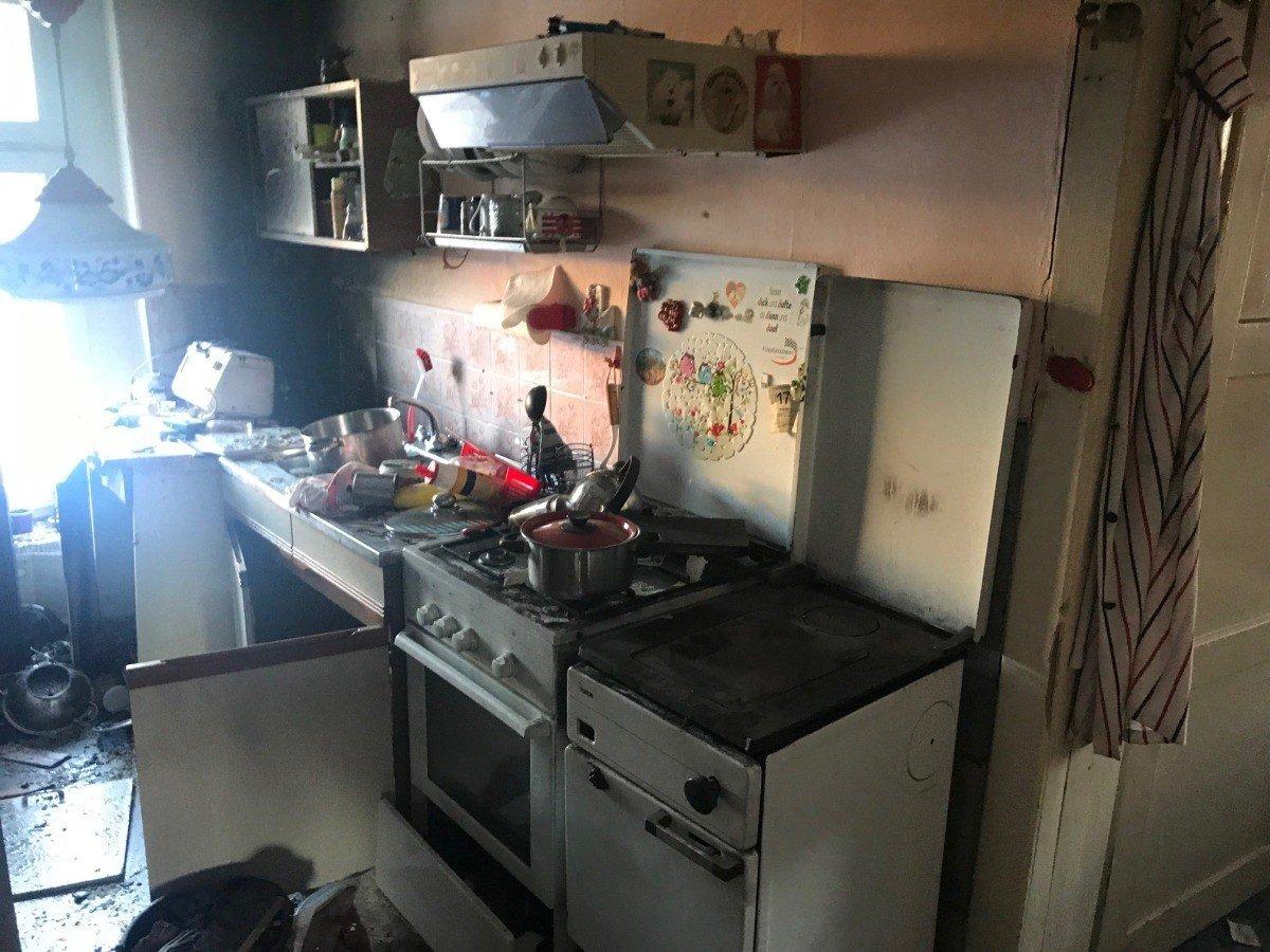 Wybuch butli gazowej w budynku na Zabobrzu