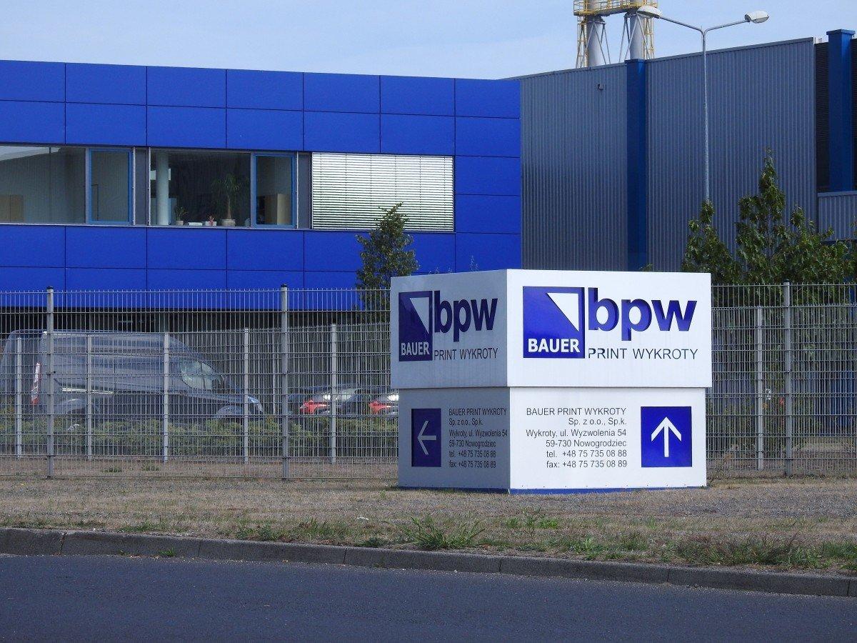 Oferta pracy w Drukarni BPW w Wykrotach