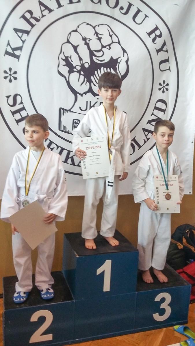 Grad medali bolesławieckich karateków w Ścinawie z-index: 0