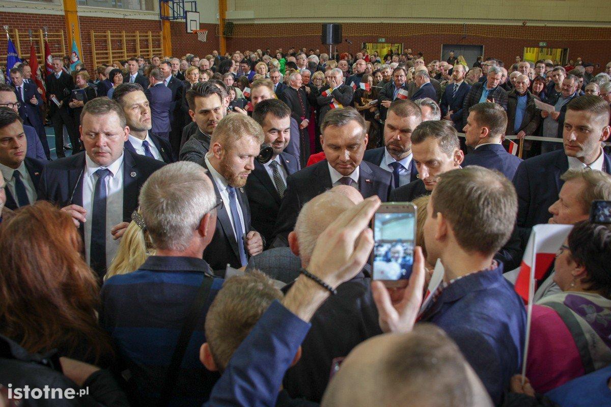 Wizyta prezydenta Andrzeja Dudy w Bolesławcu