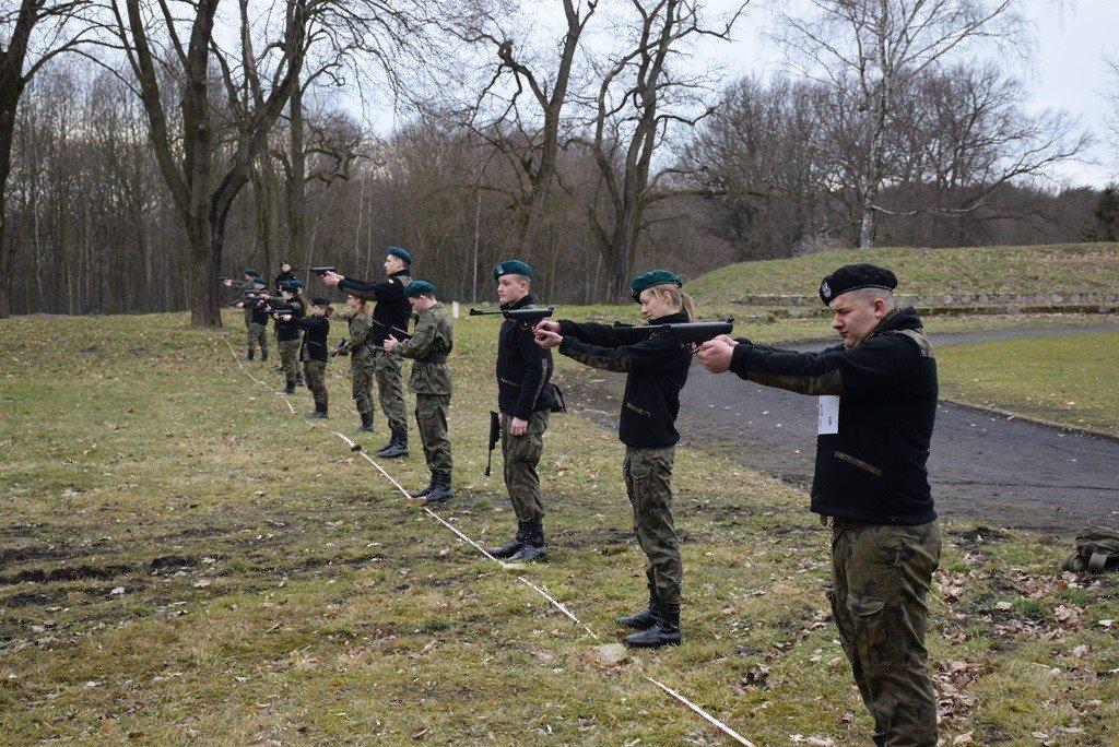 Bieg i manewry z okazji Dnia Żołnierzy Wyklętych