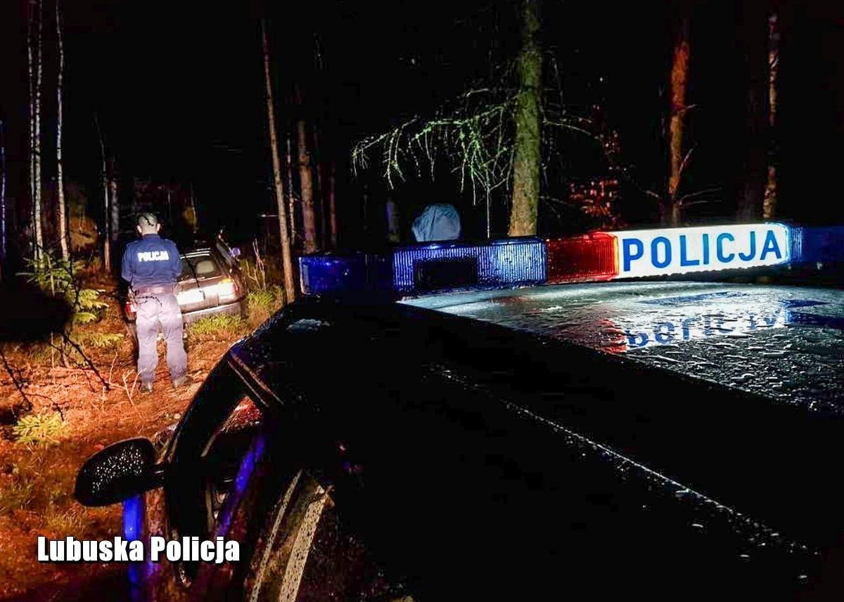 Naćpany złodziej paliwa uciekał przed policją. Padły strzały z-index: 0