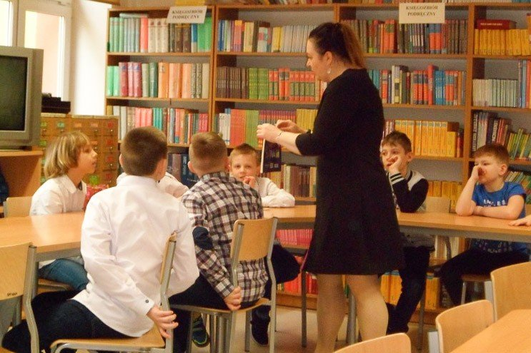 Spotkanie z klasą trzecią w  Szkole Podstawowej nr 5 z-index: 0