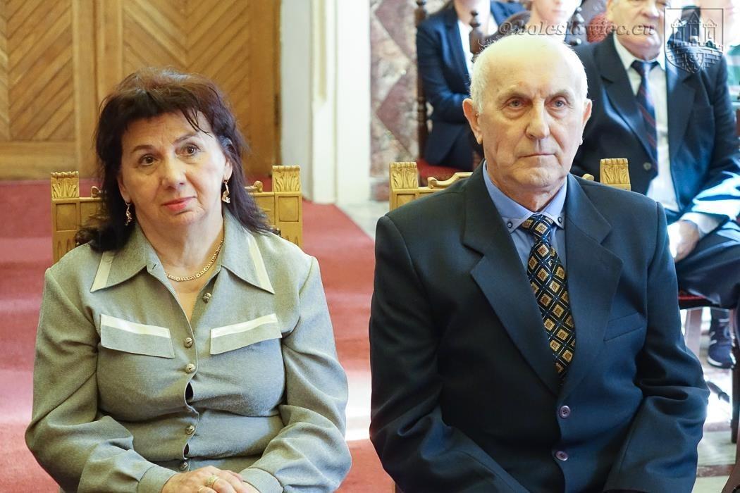 Trzy bolesławieckie pary świętowały jubileusz małżeństwa