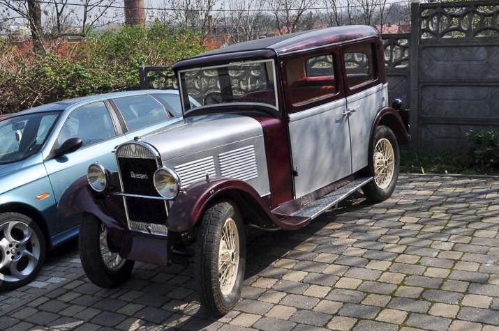 Samochód z... 1932 roku odzyskany, sprawca z zarzutami