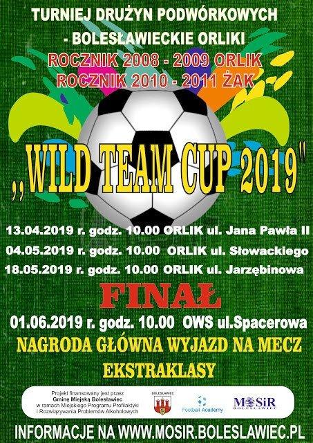 MOSiR: weź udział w piłkarskim turnieju dla dzieci Wild Team Cup 2019