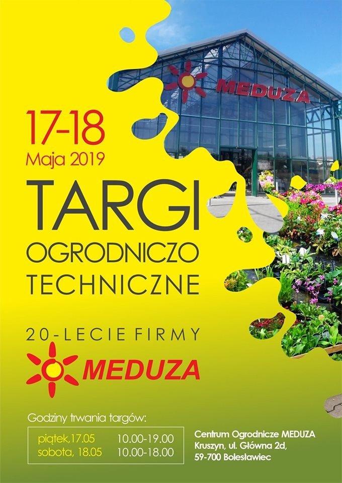 Targi Ogrodniczo-Techniczne w Centrum Ogrodniczym Meduza