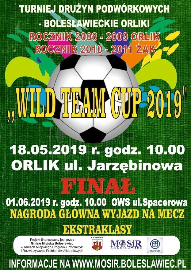 Plakat Turniej Dziki Drużyn