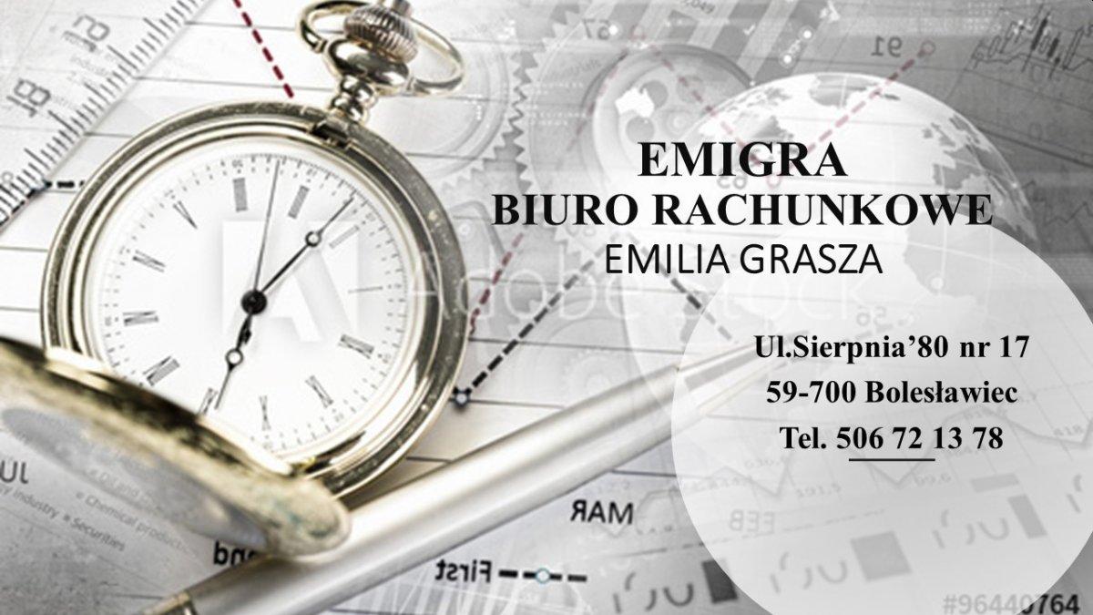 Emigra Biuro Rachunkowe Emilia Grasza