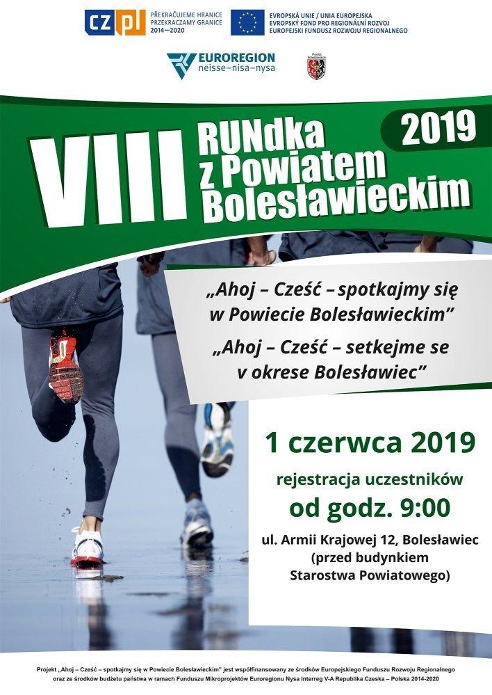 Plakat 8 Rundka z Powiatem Bolesławieckim