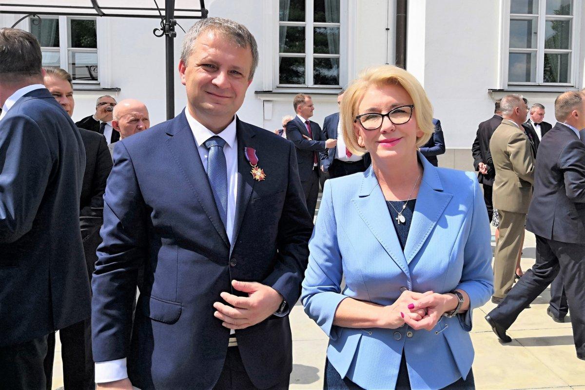 Tomasz Gabrysiak i Marzena Machałek