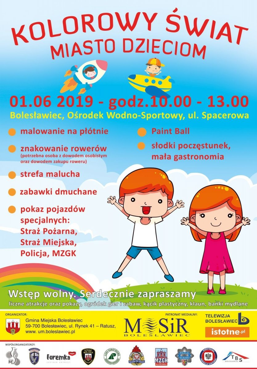 Plakat - MOSiR Dzień Dziecka