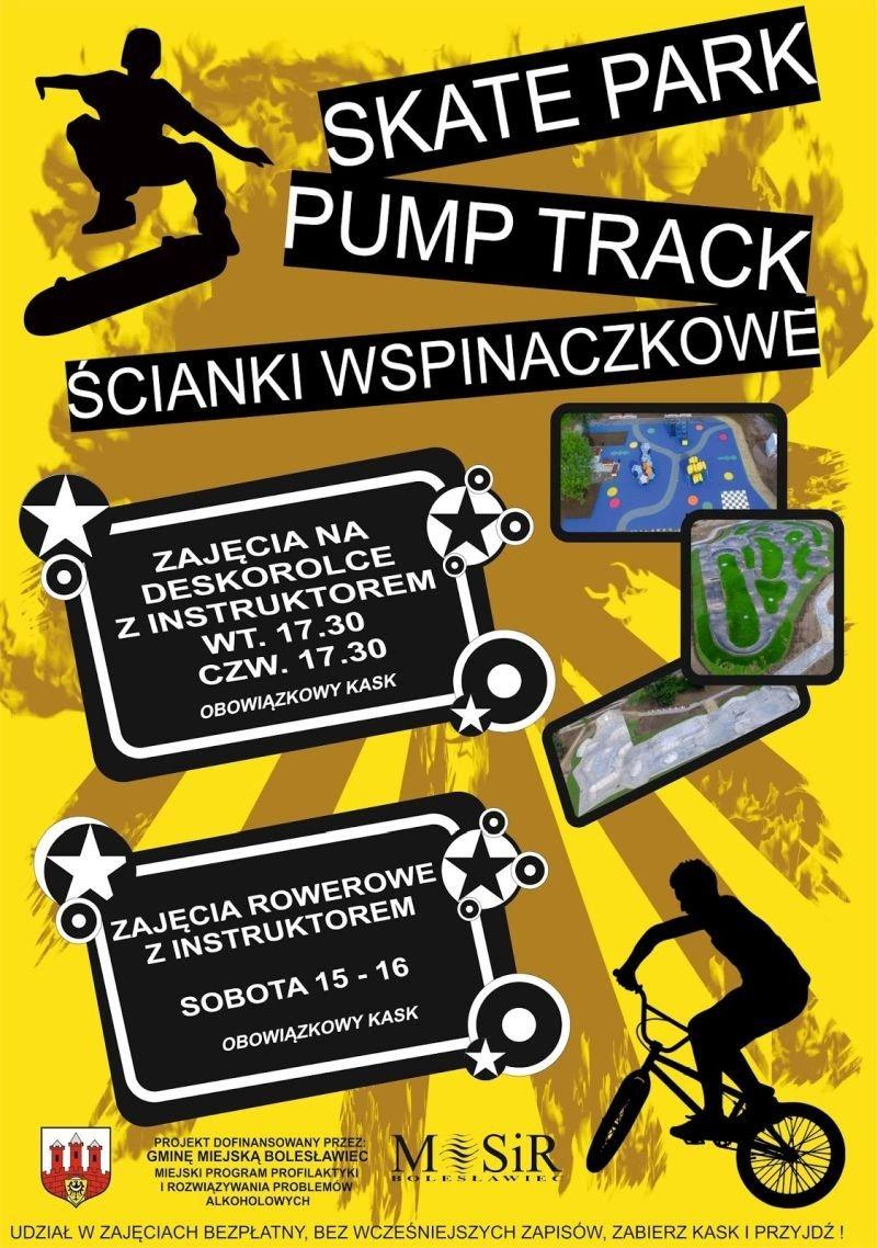 Plakat: Zajęcia na Wiadukt Plaza