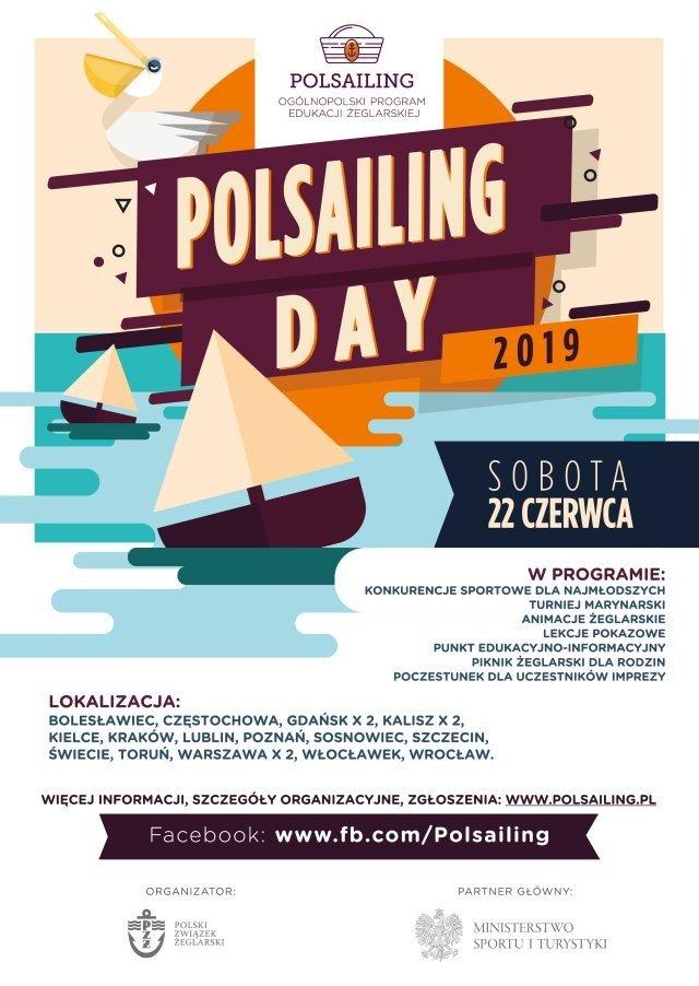 Plakat Polsailing Day Krępnica
