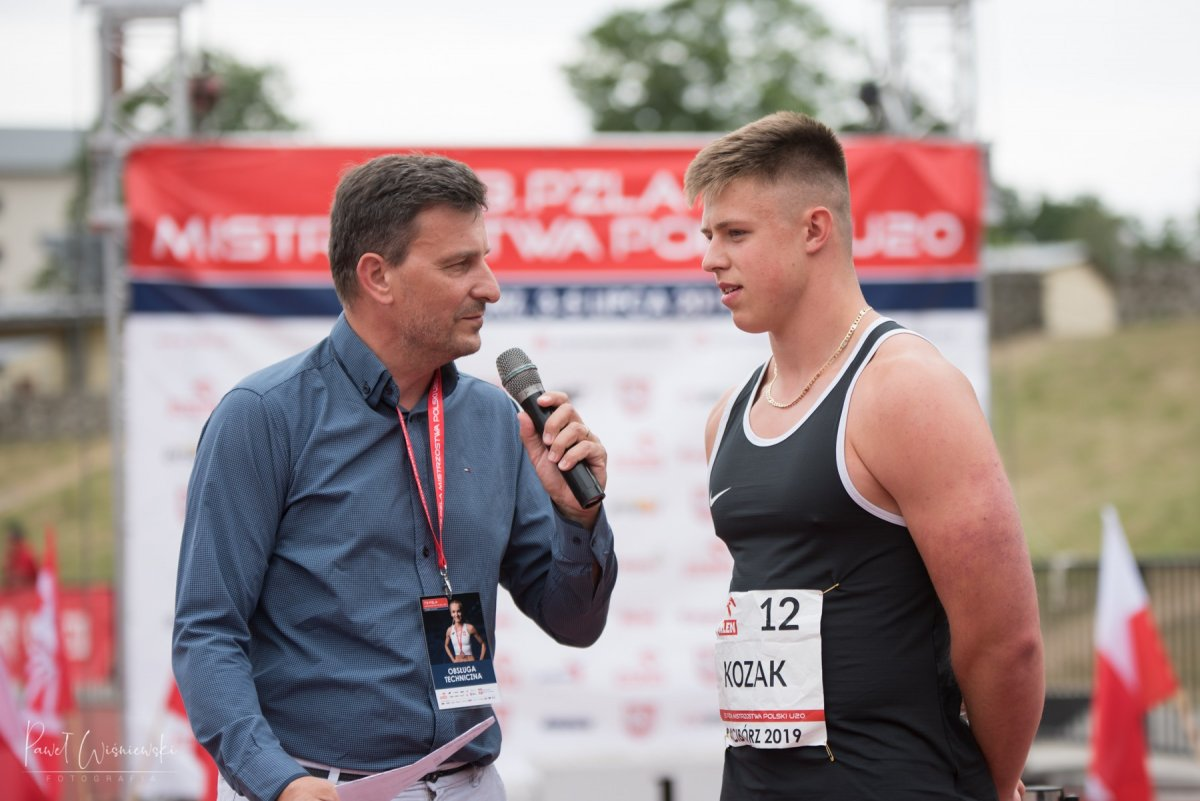 Gracjan Kozak ze złotym medalem i tytułem mistrza Polski