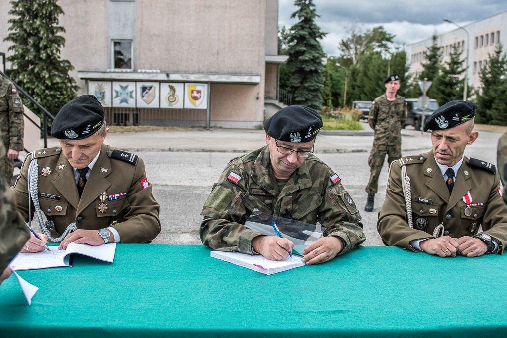 Nowy dowódca przeciwlotników w 10 Brygadzie Kawalerii Pancernej